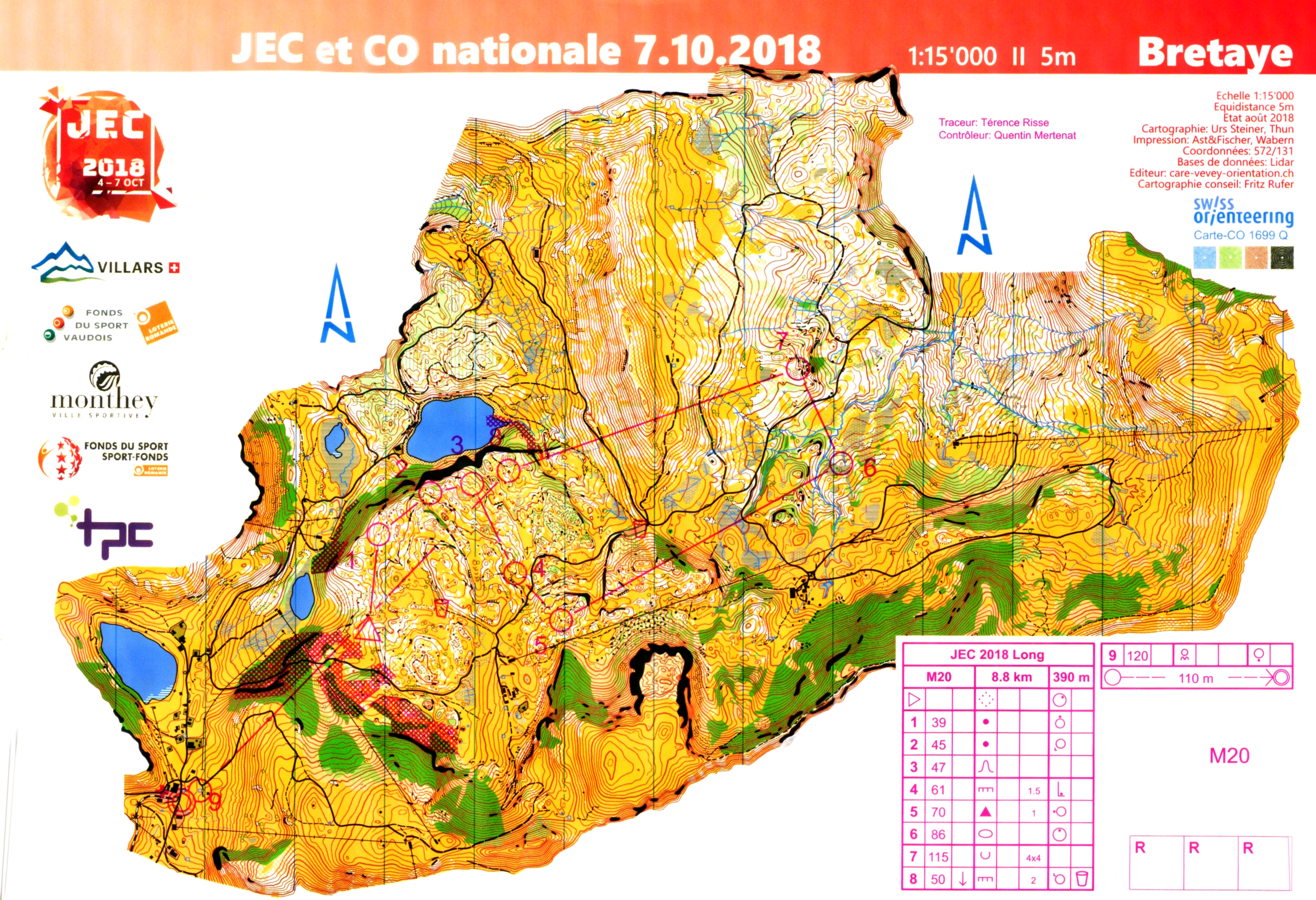 JEC course setter - all the truth (07.10.2018)